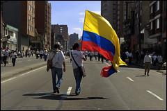 Marcha por la Paz (elsueniero) Tags: colombia bogota paz marcha gobierno farc paramilitares noalaviolencia 4defebrero