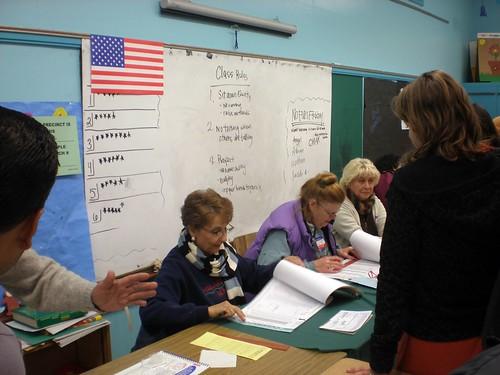 echo park voting elysian elementary poll primary super tuesday ballot non-partisan