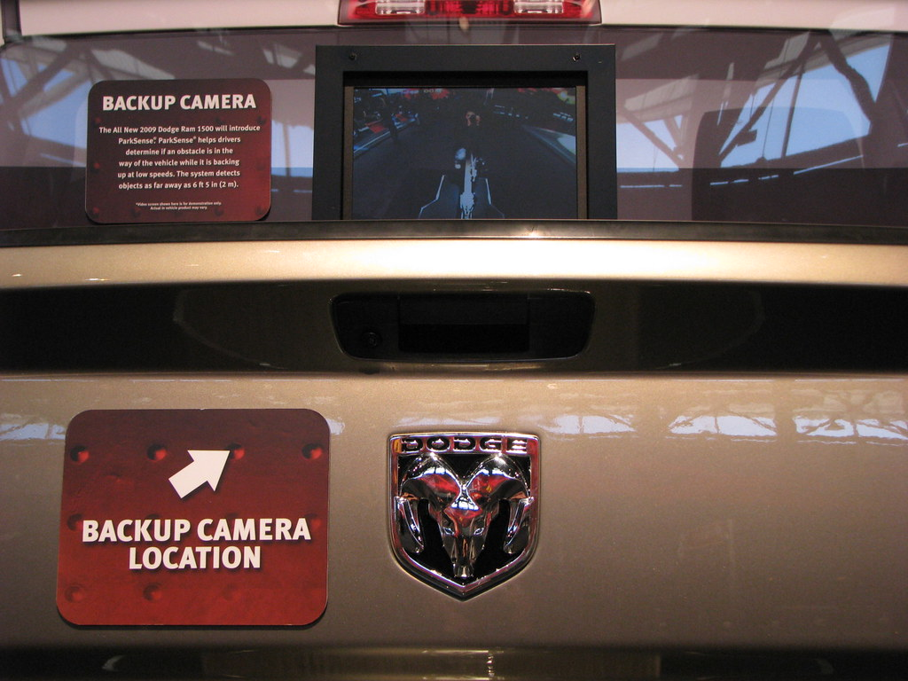 Dodge Ram backup camera