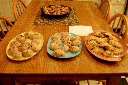 Oatmeal Cookies & Meringues