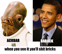 Discuss (Real Lies the Based God) Tags: admiral obama ackbar 08 itsatrap barack yeswecan