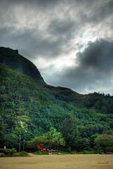 DSC_0582 (chaffneue) Tags: park weather hawaii north shore kauai hdr haena