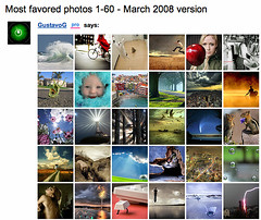 1000 faved photos - a heavy page to load (GustavoG) Tags: photos most 1000 thousand cgi faved