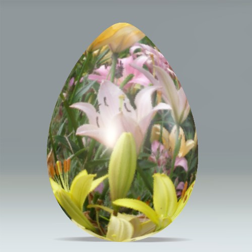 Easter Lilies Egg