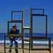 #22 Million Dollar Views by Julie Donnelly- Sculpture at On The Shore, Thirroul Seaside Arts Festival