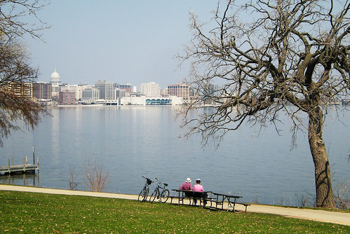 Perfect Day for Biking in Madison