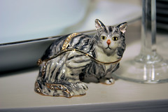 Cat figurine gift