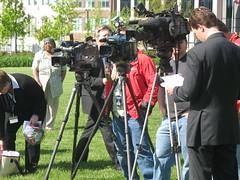 Media a the press conference