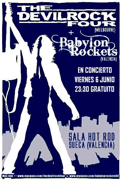 The Devilrock Four + Babylon Rockets