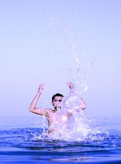 Splash II (Imran Khan - Always Pakistan First) Tags: pakistan sea water beauty fun great kuwait splash lahore enjoyment nautre salmiya mughal sialkot naveed mangaf imrankhan zeeimran420 jugnoo aplusphoto creativezee flickrestrellas neikapura sharqbeach darogawala