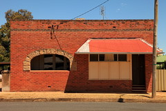 Old Shopfront Boorowa (Darren Schiller) Tags: boorowa newsouthwales abandoned architecture building closed disused empty facade bricks rural rustic smalltown shop store window verandah