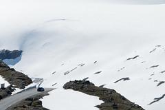 dead end (e-box 65) Tags: snow drive car street mountain nationaltouristroad dalsnibba geiranger norway scandinavia norwegen strase auto