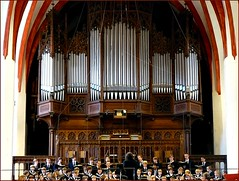 Bach organs in the St.Thomaskirche, Leipzig (jackfre2 (on a trip-voyage-reis-reise)) Tags: music church choir germany arch pipes arches leipzig bach organ orchestra singers wagner mozart organpipes organs conductor cantata gewandhaus pulpits boyschoir chamberorchestra religiousmusic stthomasboyschoir gewandhausorchestra