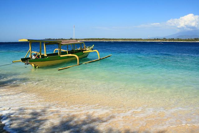 Gili Trawangan Island Beach
