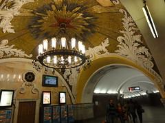 Estación de Komsomólskaya en el Metro de Moscú (cives-expat) Tags: metro komsomolskaya rusia moscú