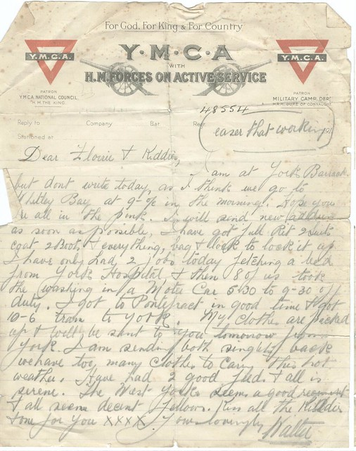 7. First letter