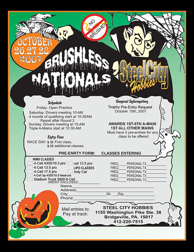2007 SCH Brushless Nats - Halloween Theme