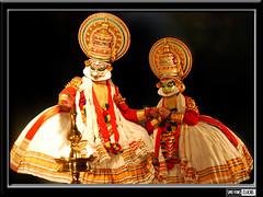 K A T H A K A L I - the classical dance-drama of Kerala, India (Smevin Paul - Thrisookaran !! www.smevin.com) Tags: india art dance stage performance kerala kathakali