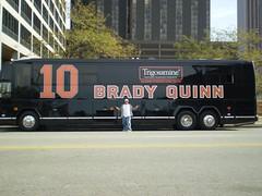 Brady Quinn's Private Big Bus