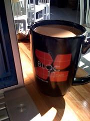 Bloc 11 Cafe mug