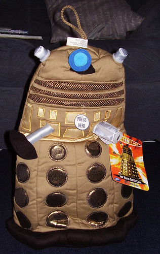 Dalek Hot Water Bottle Cover [Standing Up!]