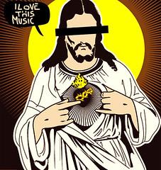 Personalwork/ Anonymous ([GW] GrafikWar) Tags: illustration jesus vectorial ilovethismusic grafikwar