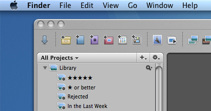 Mac OS 10.5 features a transparent menu bar, for better or for worse.