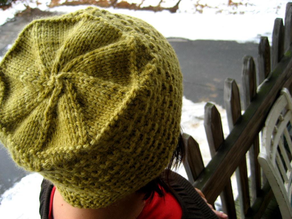 stella s hat top (knitting school dropout) Tags  snow wool hat yellow knitting  knit f5254d3819c