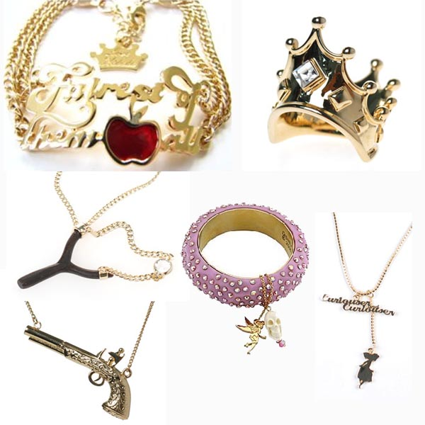 disney couture, chic and charming, mirror mirror on the wall, jewelry, alice in wonderland