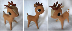 Faun 2 (Louise Bagnall) Tags: christmas brown softie plushie present faun