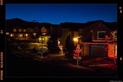 Final suburban vestiges of the holiday season (iceman9294) Tags: holiday lights suburbia chriscoleman iceman9294