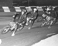 1968 - Suzuki A100 at Trojan Raceway South Gate California (cyclenut48) Tags: california racing ama motorcycle suzuki tt fmf a100 southgate elsinore perris shorttrack flattrack district37 garyscott hankscott garybailey trojanraceway keithmashburn donemler jimmyraymond riohondomarine dalebrownmotors