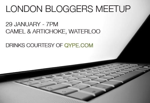 LondonBloggersMeetUp