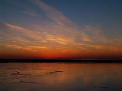 Spectral Blaze! (p.csizmadia) Tags: sunset sky cold color ice frozen flickr spectrum kodak explorer january explore blaze palette spectral ablaze lorain csizmadia lorainoh coloursplosion kodakz812is z812is pcsizmadia