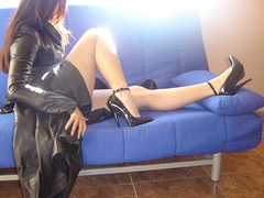 Pumps 3 (lady_dulciny_boots) Tags: leather clothing topf75 pumps legs topv4444 charol
