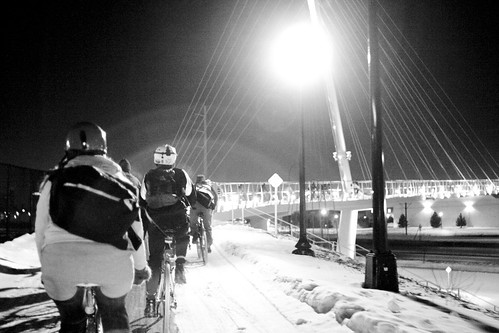 Riding the Sabo Bridge