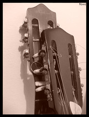 My old guitars (.lucy) Tags: detail sepia guitars violo violes acousticguitars