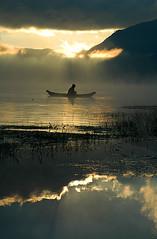 Lake Batur (Tempo Dulu) Tags: bali reflections indonesia dawn batur beautifulbali