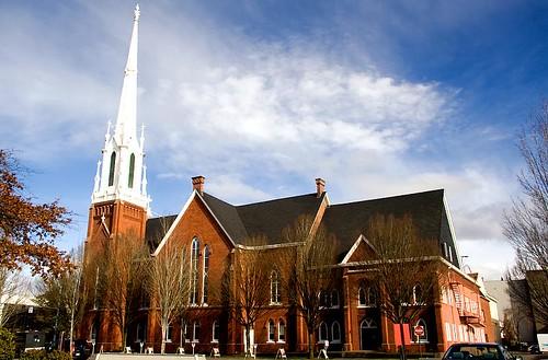 Salem First United Methodist Church in Salem Oregon
