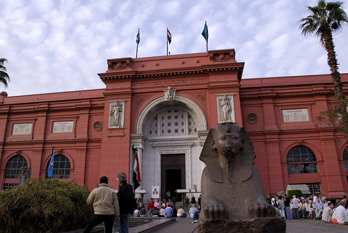 The Museum of Egyptian Antiquities in Cairo by marantzer