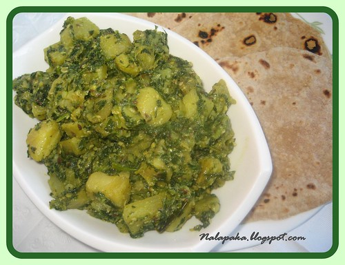 Tilwale aloo palak malas kitchen tilwale aloo palak forumfinder Images