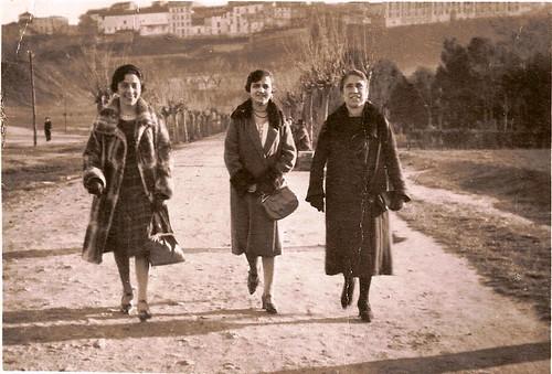 Avenida de La Reconquista, Toledo, años 30.