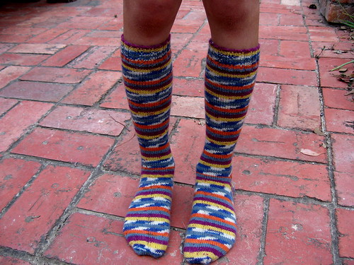 Son #3's make-your-eyes-water socks