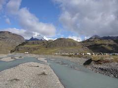 El Chalten - riviere - village