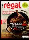 couverture magazine Régal