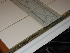Tiled counter disaster