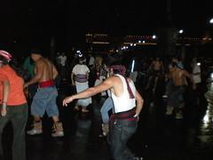 Aztec dancers in the Zocalo on a rainy Saturday night (sftrajan) Tags: mxico mexico mexicocity df dancers mexique 2008 zocalo mexiko distritofederal messico azteca aztecdancer ciudaddemxico chilangolandia cittdelmessico mexikostadt defeo