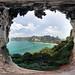 A window to Krabi (made of limestone)