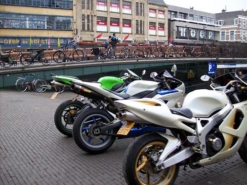 Bikes in Hague