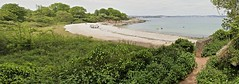 Elderberry Cove 2 (Smirfman) Tags: trees sea england people water boats sand rocks walks cove sony may kitlens panoramic devon views inlet alpha paignton brixham 2011 a350 englishriviera sony18200mm